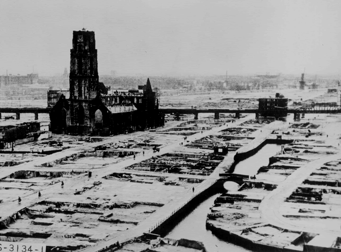 The Ruins of Rotterdam, 1940