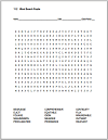 Terms 11.2 Word Search Puzzle