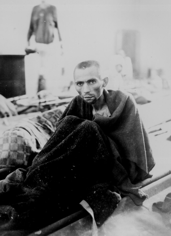 Inmate at Camp Gusen, WWII