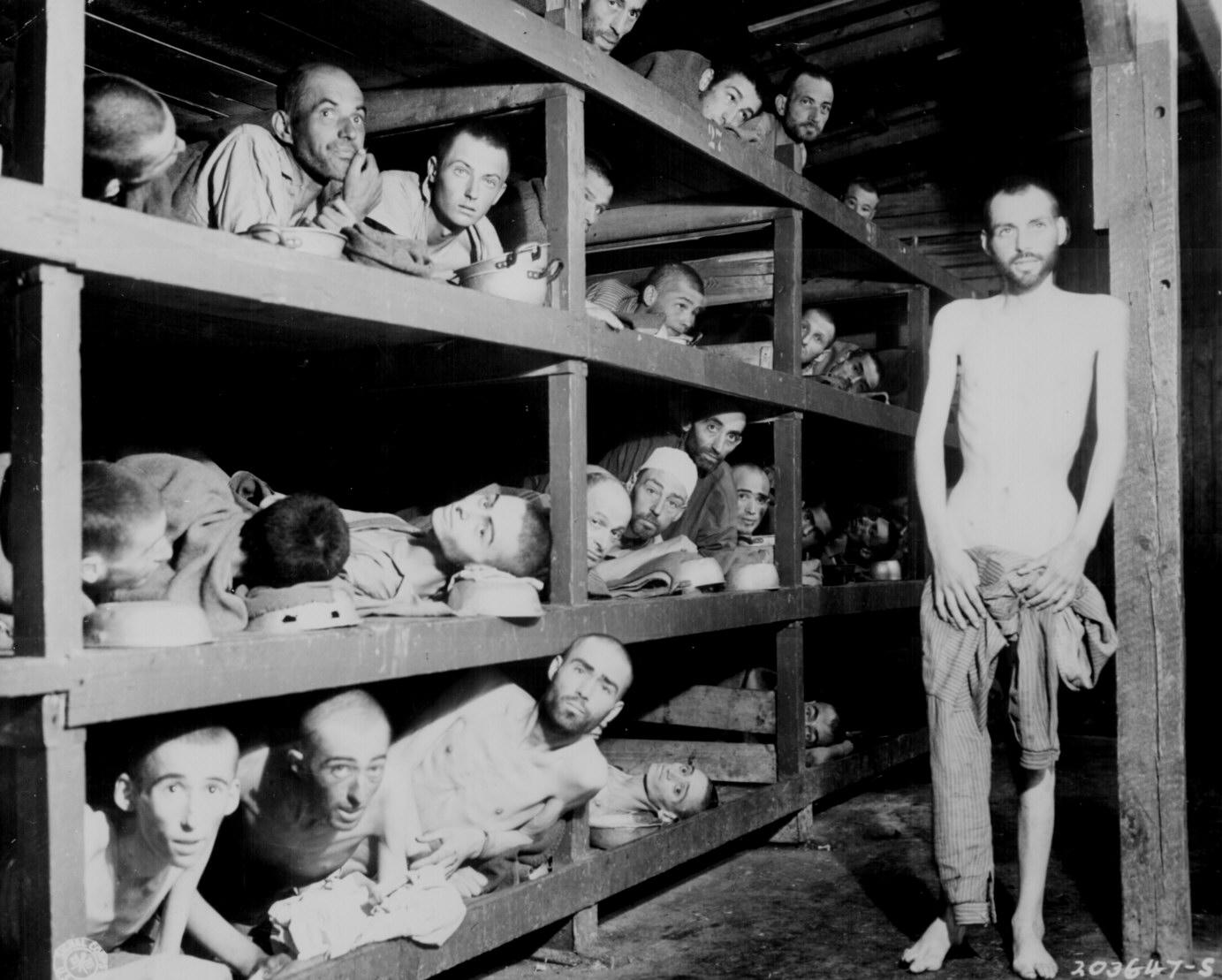Prisoners at Buchenwald