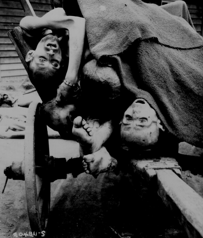 Corpses at Gusen Camp