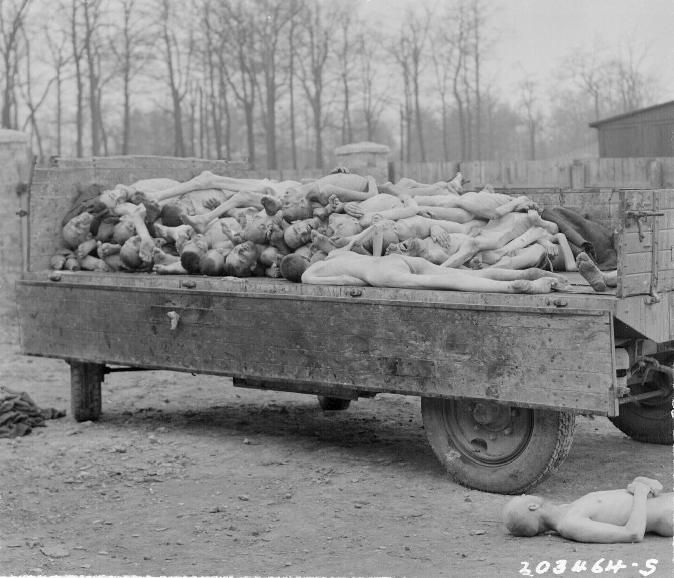 Victims at Buchenwald Camp