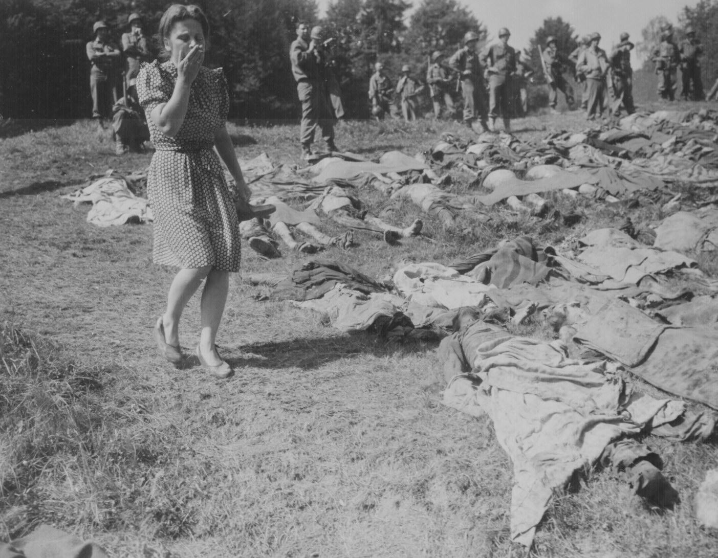 Exhumed Bodies of Holocaust Victims