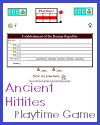 Ancient Hittites Playtime Quiz Game for 2 Players or 2 Teams