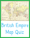 British Empire Interactive Map Quiz with 6 Questions