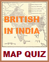 British India Interactive Map Quiz with 9 Questions