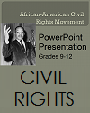 African-American Civil Rights Mlovement Powerpoint