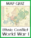 Map Quiz on Peoples and Languages of Europe with 7 Multiple-Choice Questions
