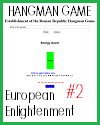 European Enlightenment Energy Saver Quiz Game #2