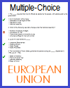 European Union Multiple-Choice Quiz with 16 Questions
