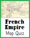 French Empire Interactive Map Quiz with 5 Questions