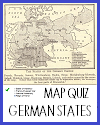 Map Quiz on the States of Germany