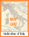 Interactive Map Quiz on the Unification of Italy