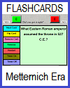 Metternich Era Interactive Flashcards