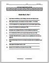 Code Puzzle Worksheet: World War II