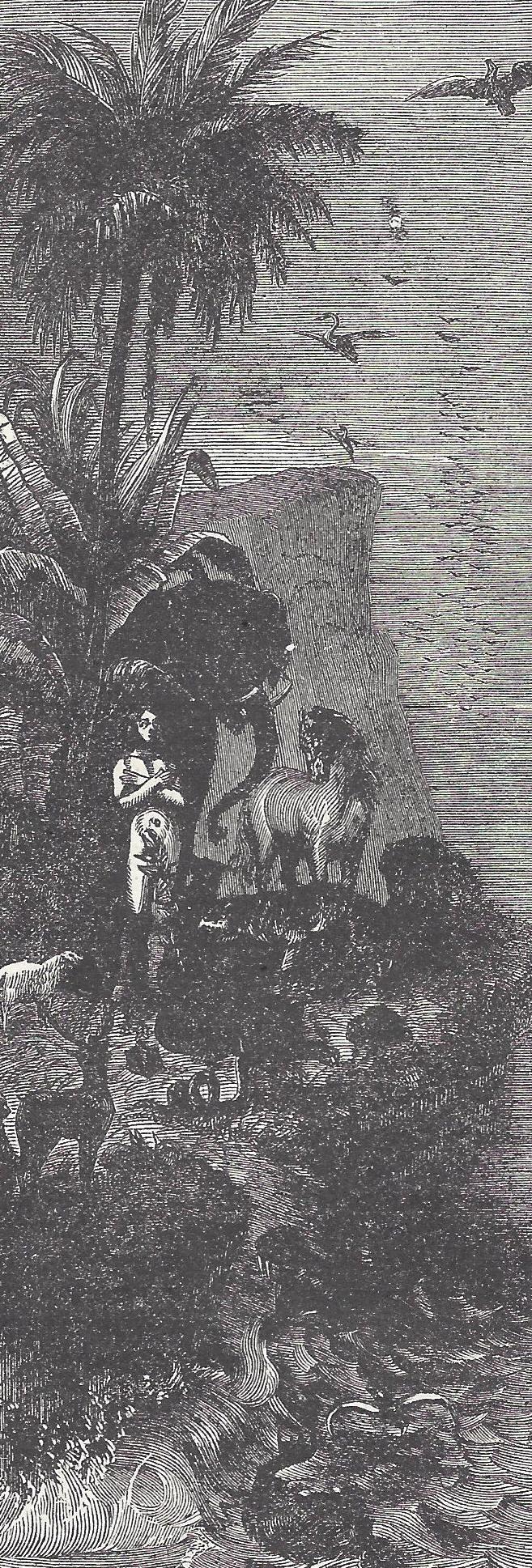 Adam at the Biblical Creation - Garden of Eden