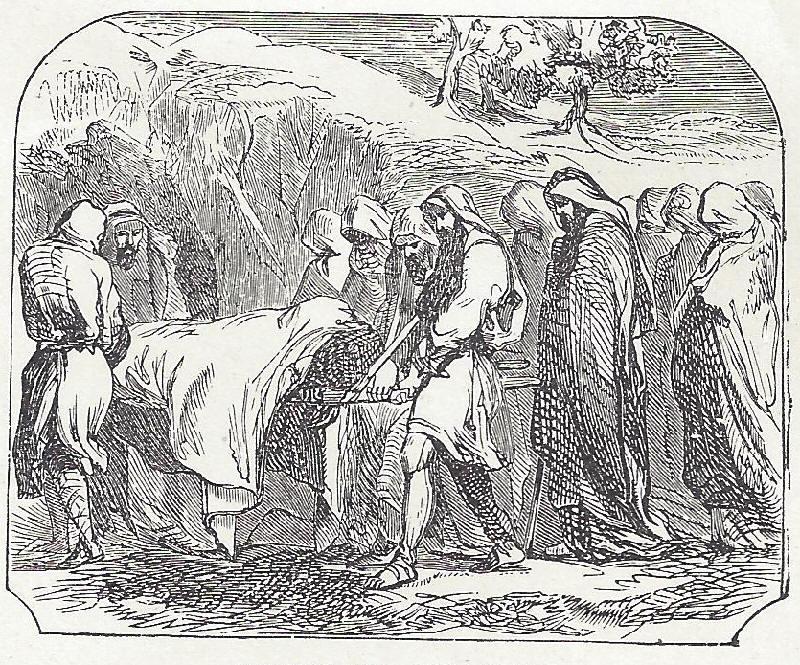 Burial of Biblical Patriarch Abraham