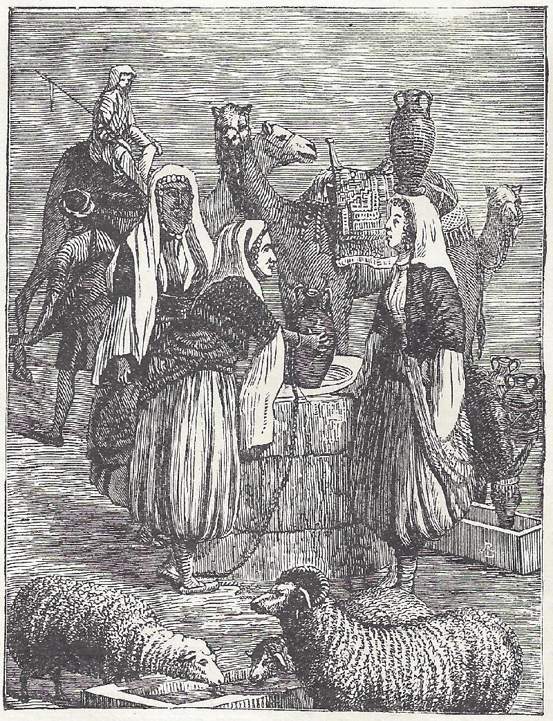 Daughters of Laban at the Well