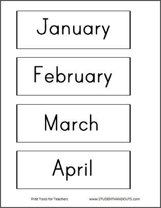 DIY Bulletin Board Calendar - Free printables and instructions.
