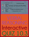Verbal Reasoning Interactive Quiz 10.3