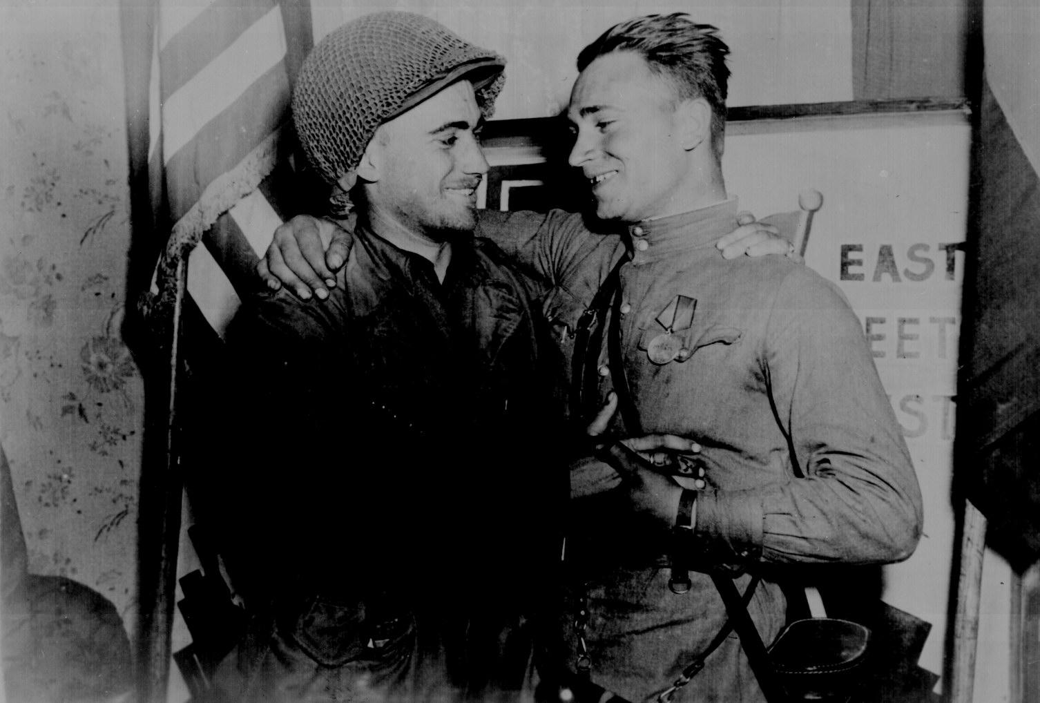 Russian and American Armies Meet (World War II)