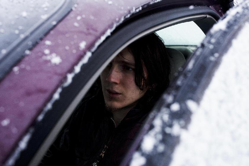 Paul Dano in a car scene from For Ellen (Tribeca Film, 2012).