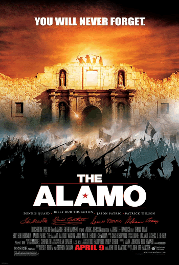 The Alamo (2004) - Movie review and guide for history educators.