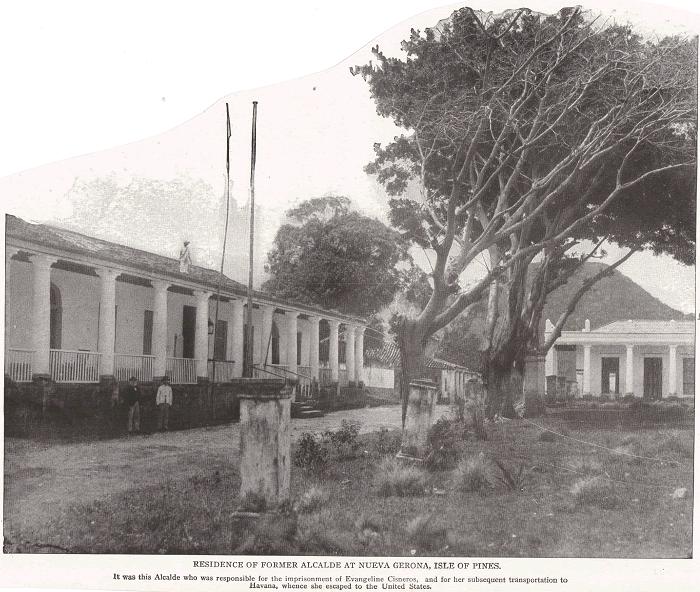 RESIDENCE OF FORMER ALCALDE AT NUEVA GERONA, ISLE OF PINES (ISLA DE LA JUVENTUD)
