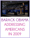 Barack Obama Addressing Americans in 2009