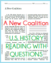 A New Coalition Reading with Questions