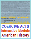 Coercive Acts Interactive Module for U.S. History