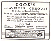 Thomas Cook and Sons Travelers' Cheques