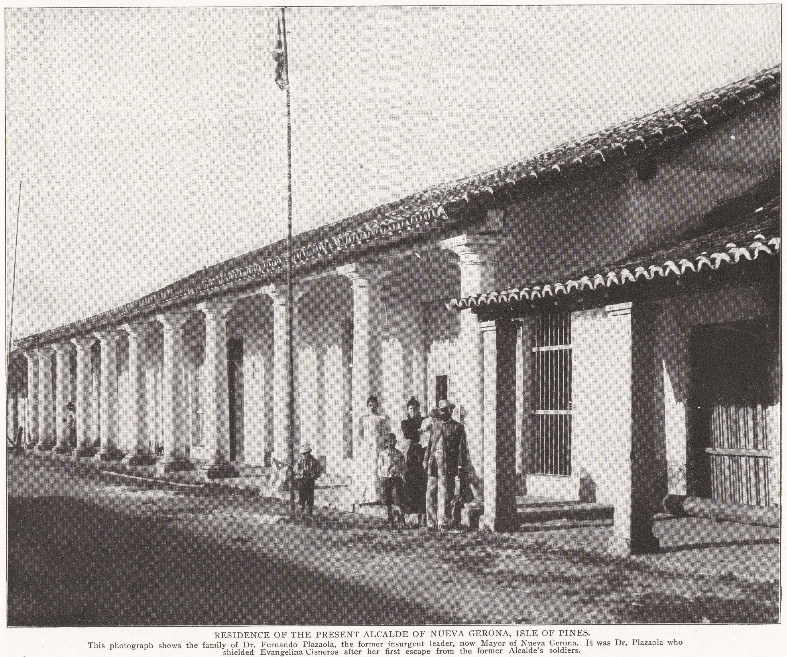 Residence of the Alcalde of Nueva Gerona, Cuba