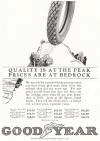 Goodyear Tires.  1922 advertisement.