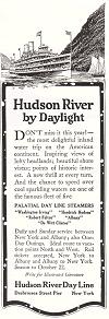 Hudson River Day Line Antique Advertisement