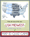 In Other Words Midwest Map Identify Game