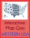 In Other Words Interactive Western States Map Quiz