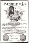 Krementz & Co., Newark, N.J., 1922 Ad