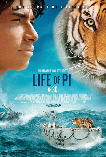 The Life of Pi (2012) Movie Review and Guide for Teachers and Parents