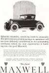 Maxwell Motor Corporation Ad