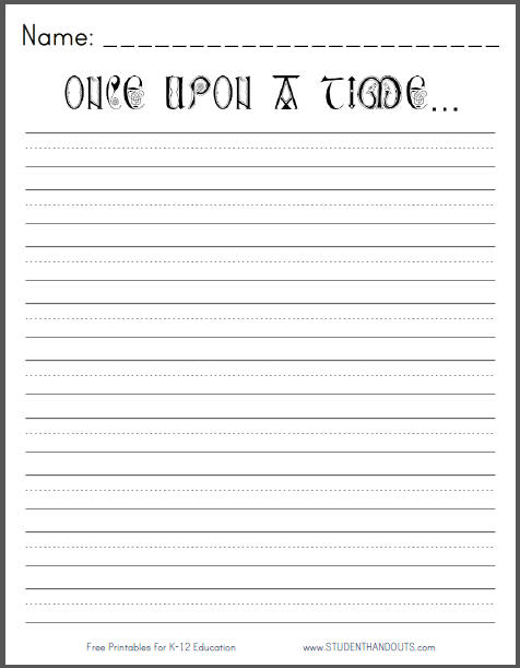 Fan image intended for 2nd grade writing worksheets free printable