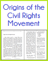 Origins of the Civil Rights Movement Reading with Questions