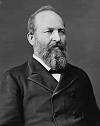 Photograph of President James Garfield