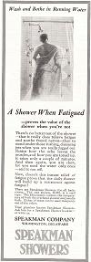 Speakman Showers Advertisement