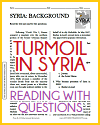 Turmoil in Syria Reading with Questions