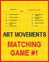 Art Movements Matching Game I