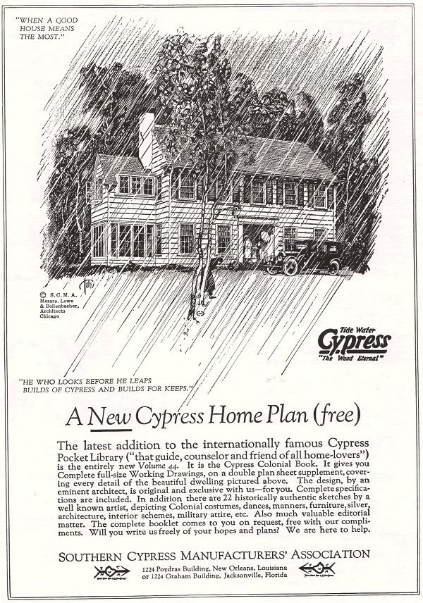 Southern Cypress Home Plan