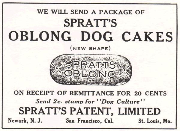 Spratt's Oblong Dog Cakes
