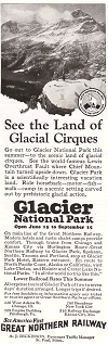 Great Northern Railway to Glacier National Park
