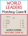 Modern World Leaders Question Time Matching Game III